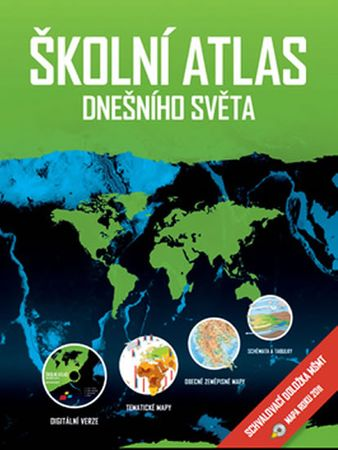 Hanus Martin, Šídlo Luděk,: Školní atlas dnešního světa