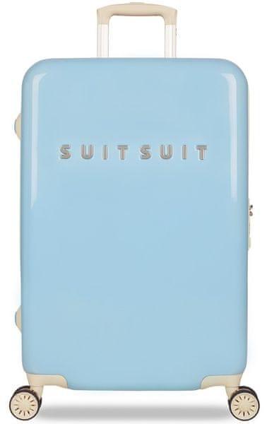 """SuitSuit Cestovní kufr Fabulous Fifties """"M"""" Baby Blue"""