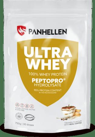 Panhellen Ultra Whey Protein, Tiramisu, 0,75 kg