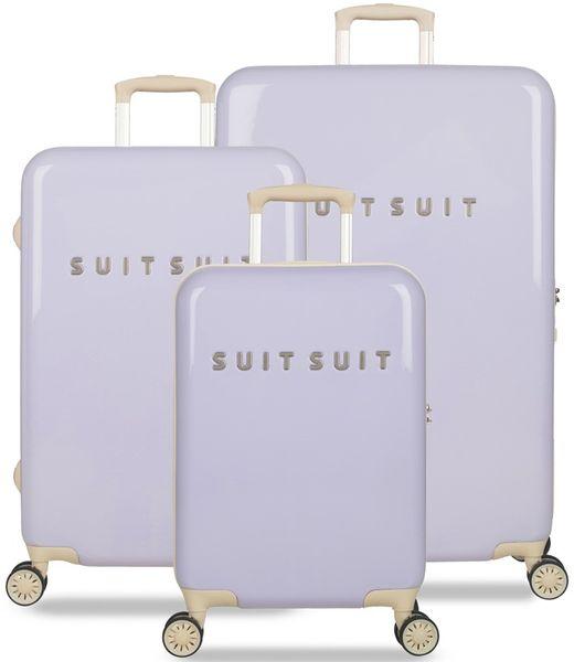 SuitSuit Sada cestovních kufrů Fabulous Fifties Paisley Purple