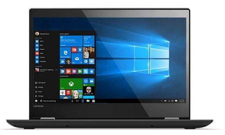 Lenovo prenosnik Yoga 520 i3-7100U/4GB/256GB/FHD14/W10 (80X800BKSC)