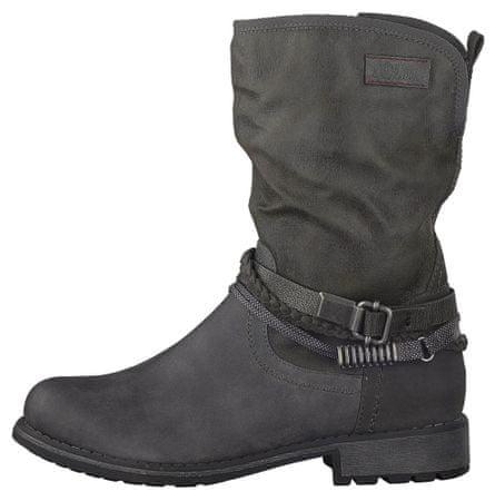 s.Oliver ženski škornji 41 temno siva