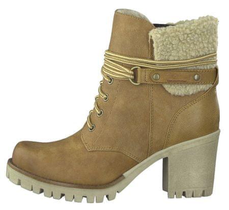 s.Oliver buty za kostkę damskie 39 brązowy