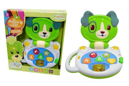 Unikatoy Baby glasbeni kuža na baterije 24890