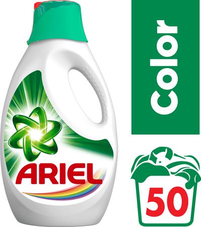 Ariel Color tekutý prací prostředek 2,75 l (50 praní)
