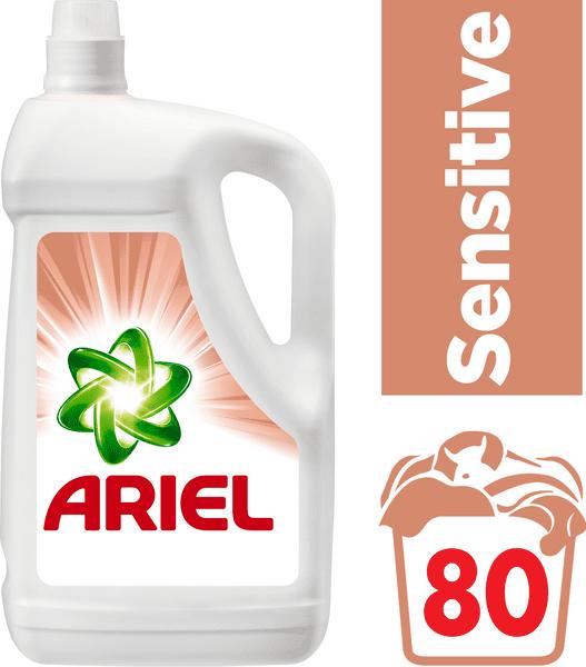 Ariel Sensitive gel 5,2 l, 80 praní