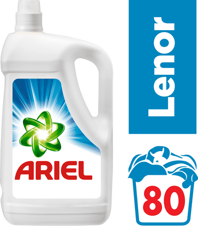 Ariel pralni gel Touch of Lenor, 5.2 l, 80 pranj