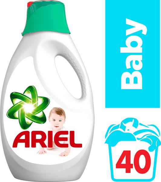 Ariel gel Baby 2,6 l, 40 praní