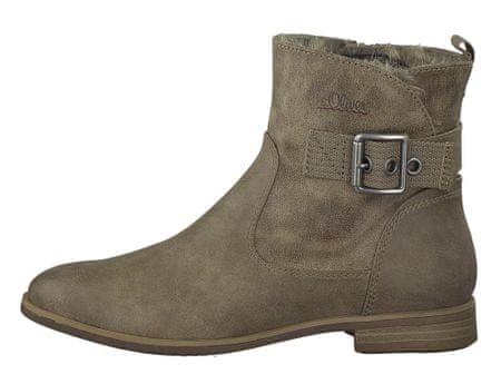 s.Oliver buty za kostkę damskie 37 brązowy
