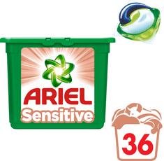 Ariel gel kapsule Sensitive 3v1, 36 kosov