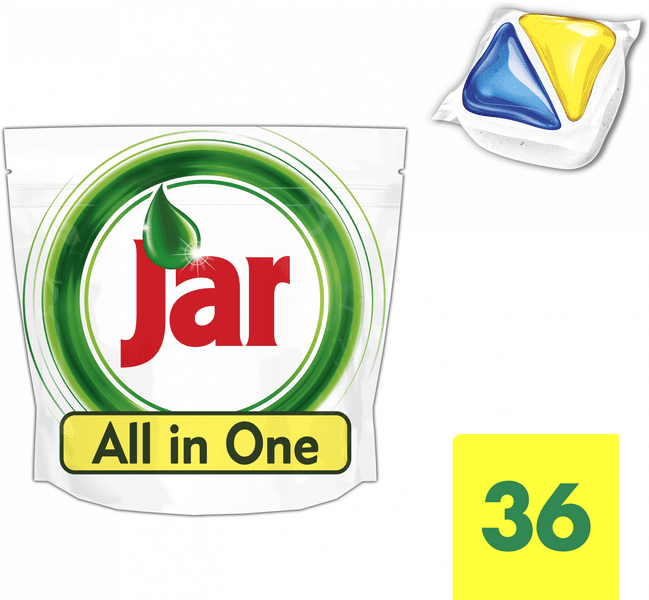 Jar kapsle Yellow 36 ks