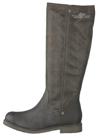 s.Oliver ženski škornji 36 siva