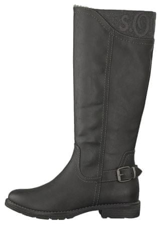 s.Oliver ženski škornji 39 črna