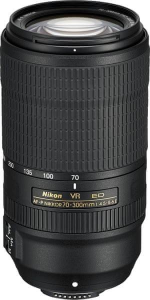 Nikon Nikkor 70-300MM F/4.5-5,6E ED VR AF-P