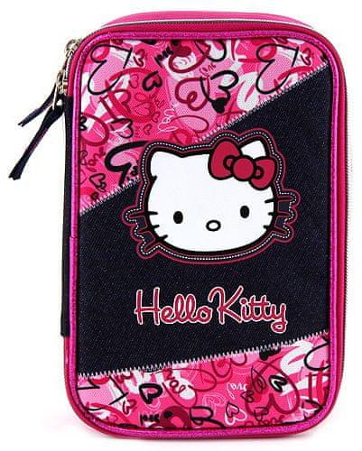 Target Školní penál s náplní Hello Kitty
