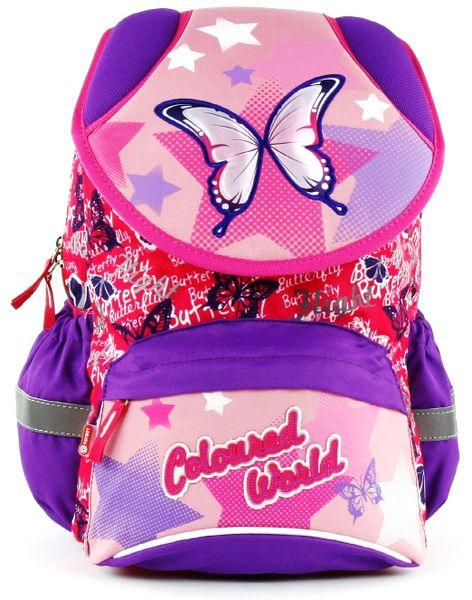Target Školní batoh fialovo růžový