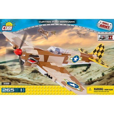 Cobi kocke Curtiss P-40 Warhawk