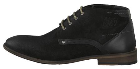 s.Oliver pánská kotníčková obuv 41 černá
