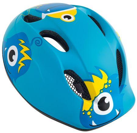 MET kolesarska čelada Super Buddy, modra, (52-57 cm)