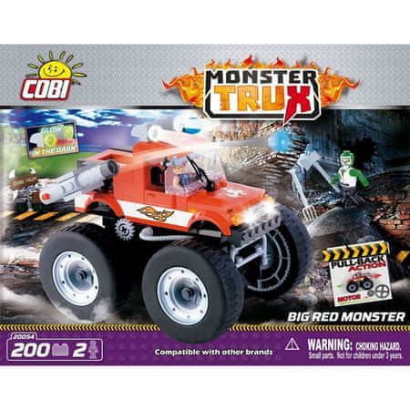 Cobi kocke Big Red Monster