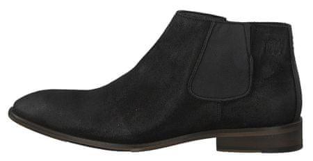s.Oliver pánská kotníčková obuv 42 černá