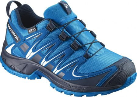 Salomon pohodniški čevlji Xa Pro 3D Cswp J, modri, 33