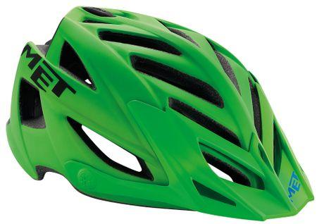 MET kolesarska čelada Terra, zelena, (54-61 cm)
