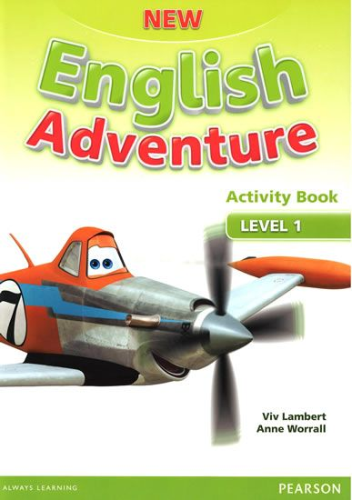 Worrall Anne: New English Adventure 1 Activity Book and Song CD Pack