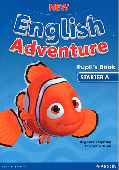 Worrall Anne: New English Adventure STA A Pupil´s Book w/ DVD Pack
