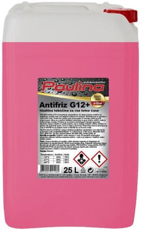 Paulina antifriz koncentrat G12+, roza, 25L