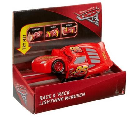 Mattel Verdák 3 karambol autók, Villám Mcqeen