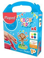 Maped prstne barve, 4/1, 80g
