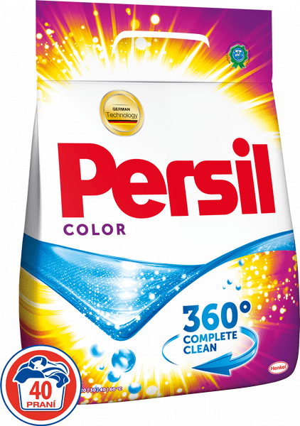 Persil 360° Complete Clean Color Powder, 40 praní