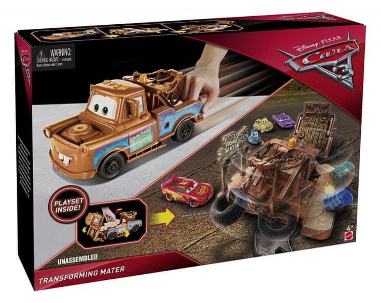 Mattel Cars 3 Transformující se auto - Burák