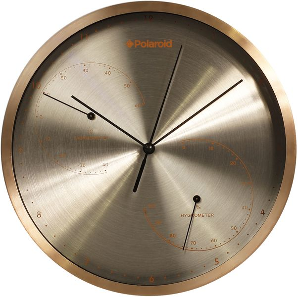 Time Life Nástěnné hodiny TL-178B teploměr/vlhkoměr