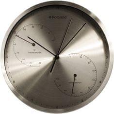 Time Life Nástěnné hodiny 25 cm teploměr/vlhkoměr