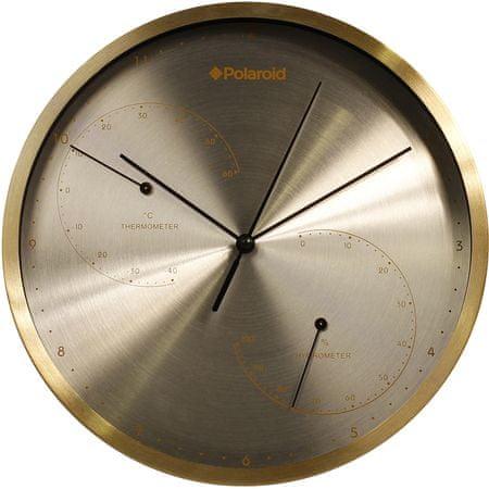 TimeLife zegar ścienny TL-178Z termometr / higrometr