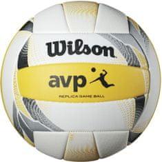 Wilson žoga za odbojko Avp II Replica Beach, bela/rumena