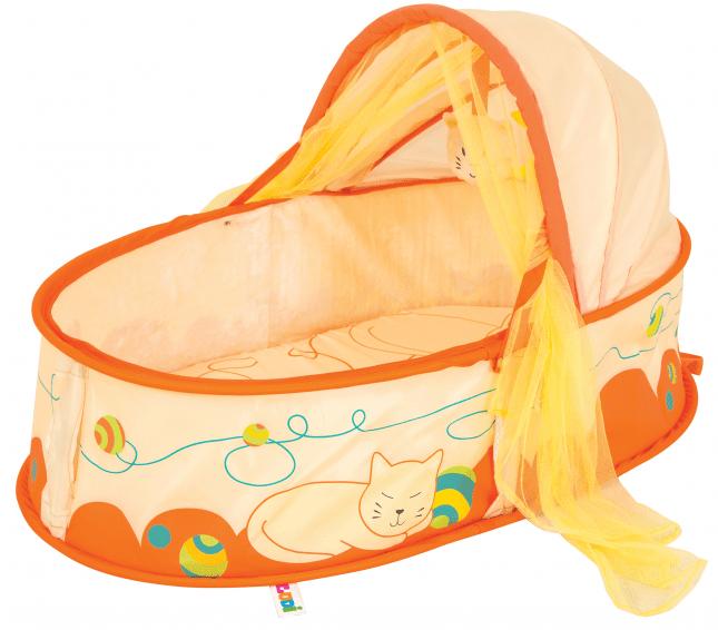 """Ludi Cestovní postýlka pro miminko Nomad """"Kočička"""""""