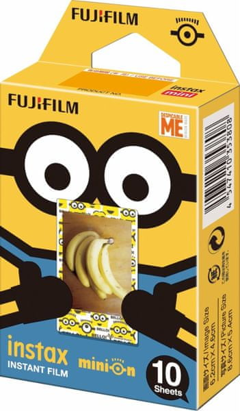 FujiFilm Instax Film MINI Minion (10ks)