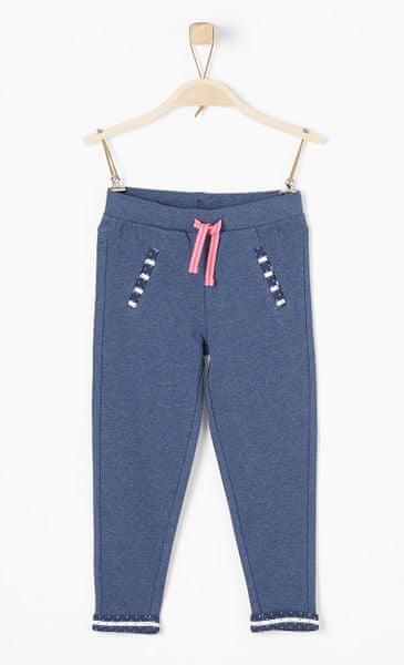 s.Oliver dívčí kalhoty 134 modrá