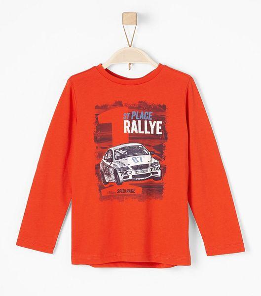 s.Oliver chlapecké triko Rallye 116/122 červená