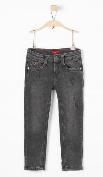s.Oliver chlapecké kalhoty 110 černá