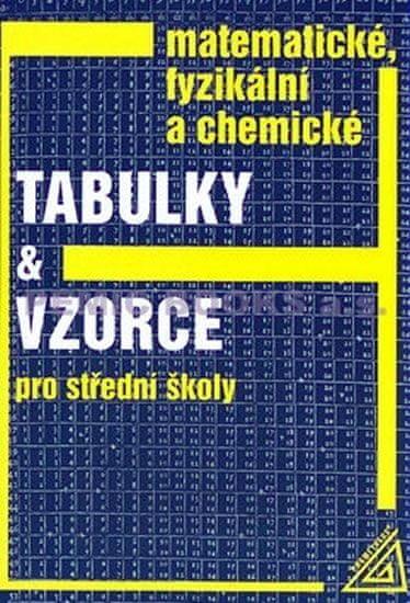 Mikulčák Jiří: Matematické, fyzikální a chemické tabulky a vzorce pro SŠ