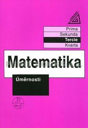 Herman Jiří: Matematika pro nižší třídy víceletých gymnázií - Úměrnosti