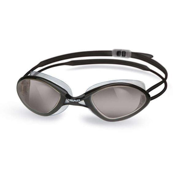 Head Brýle plavecké TIGER RACE LIQUIDSKIN, Head, kouřová/černá