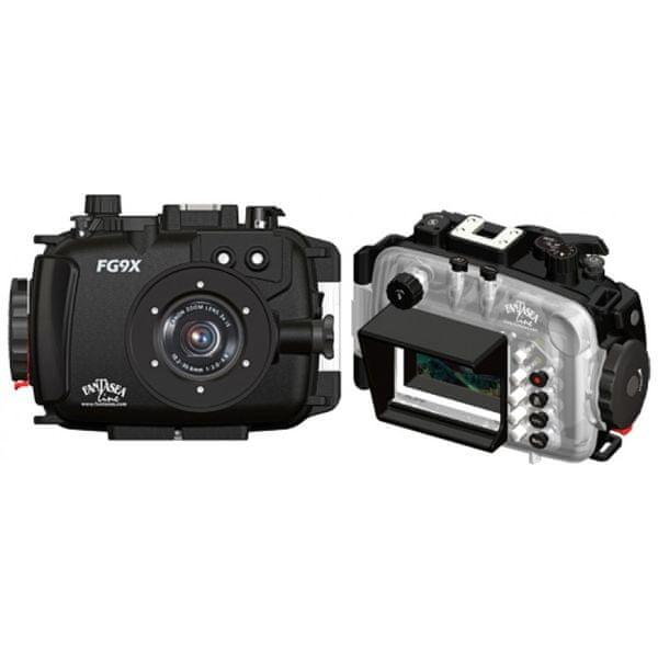 FANTASEA Pouzdro podvodní FG9X pro digitální foťák Canon PowerShot G9 X, Fantasea