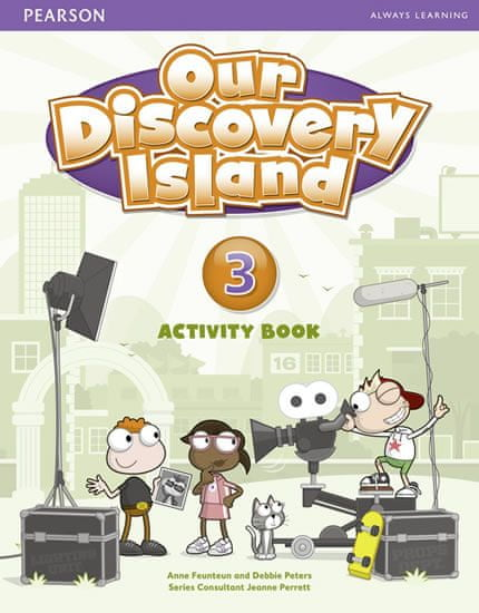 Peters Debie: Our Discovery Island 3 Activity Book w/ CD-ROM Pack