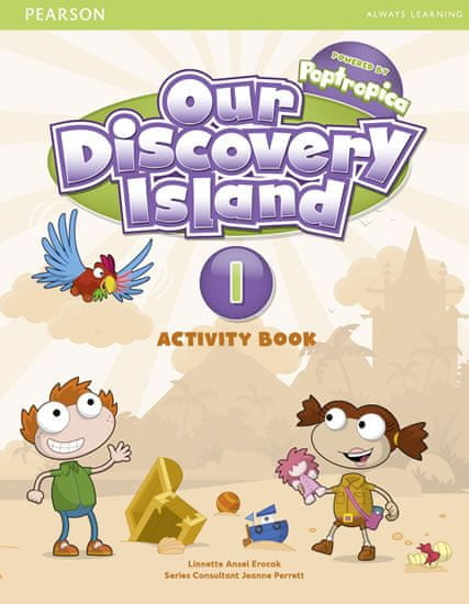 Erocak Linnette: Our Discovery Island 1 Activity Book and CD ROM (Pupil) Pack