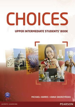 Harris Michael: Choices Upper Intermediate Students´ Book & MyLab PIN Code Pack